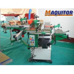 Maquina multifuncion combinada para madera