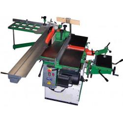Máquina multifuncional combinada universal para madeira de carpinteiro e DIY