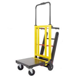 Carretilla sube escaleras oruga electrica automática a bateria para subir escaleras precio ecónomico carga 250 - 300 Kg
