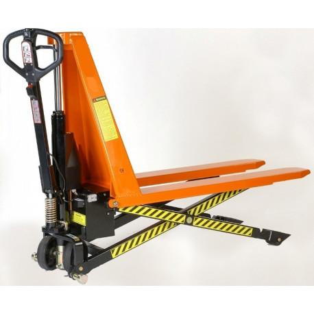 Transplaleta de tijera electrica elevadora capacidad carga de 1.000 a 1.500 kg
