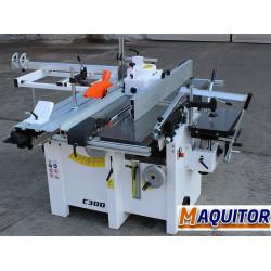 Máquina para madeira multi função, lixar, cortar, serrar, lavar, aplainar